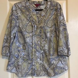 Paisley Button-Down Shirt